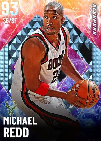 '04 Michael Redd diamond card