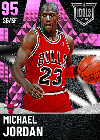 '95 Michael Jordan pinkdiamond card