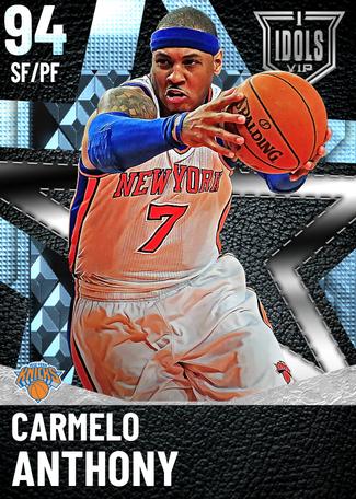 '13 Carmelo Anthony diamond card