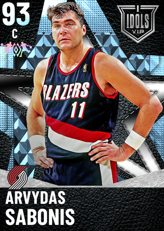 '99 Arvydas Sabonis diamond card