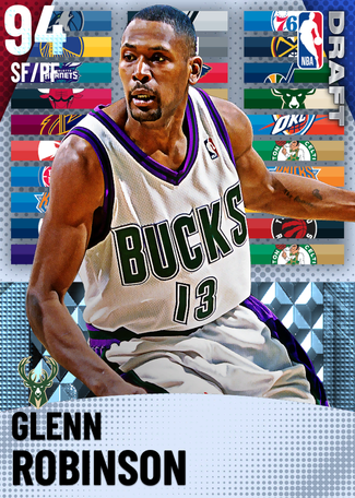 '08 Glenn Robinson diamond card
