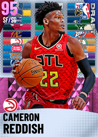 Cameron Reddish pinkdiamond card
