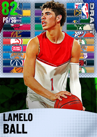 LaMelo Ball emerald card