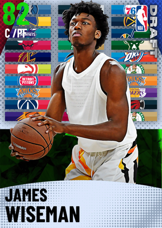James Wiseman emerald card