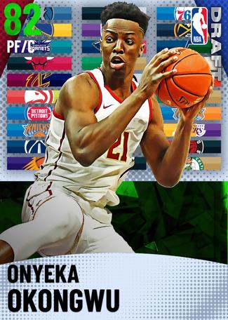 Onyeka Okongwu emerald card