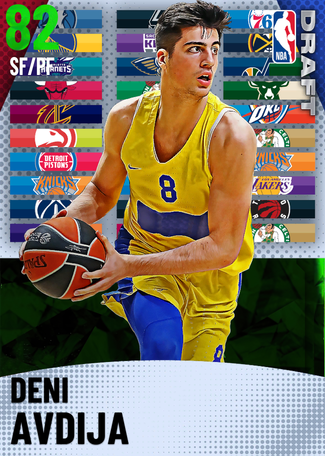 Deni Avdija emerald card