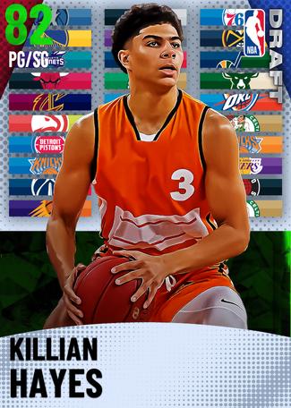 Killian Hayes emerald card