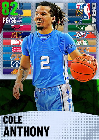 Cole Anthony emerald card