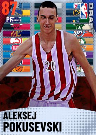 Aleksej Pokusevski ruby card