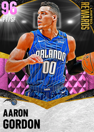 Aaron Gordon pinkdiamond card