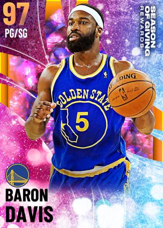 '08 Baron Davis opal card