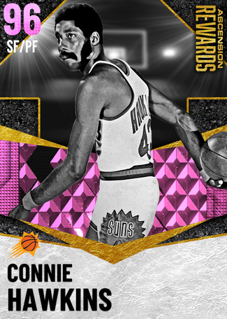 '76 Connie Hawkins pinkdiamond card
