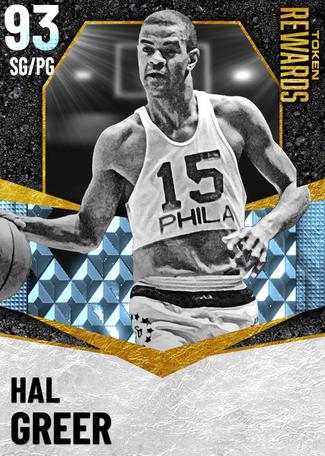 '73 Hal Greer diamond card