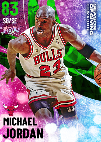 '95 Michael Jordan emerald card