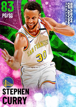 Stephen Curry emerald card