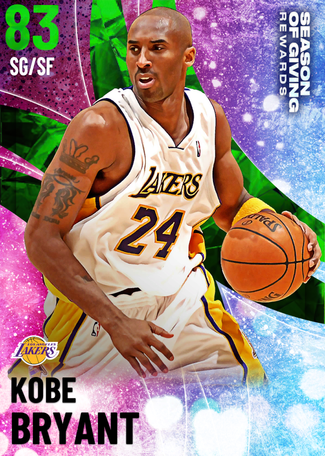 '03 Kobe Bryant emerald card
