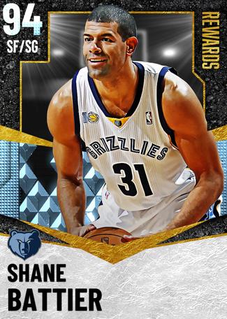 '13 Shane Battier diamond card