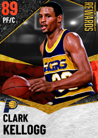 '83 Clark Kellogg ruby card