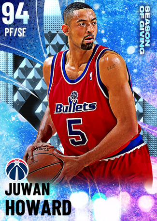'06 Juwan Howard diamond card