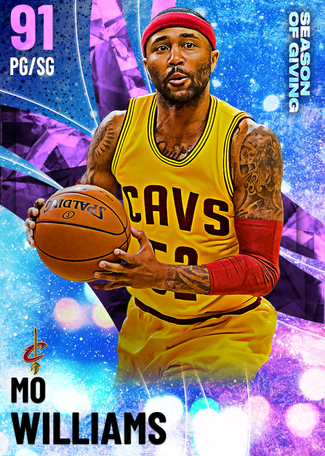 Mo Williams amethyst card