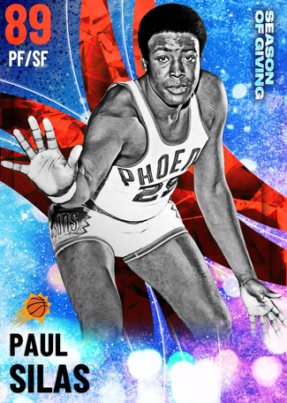 Paul Silas ruby card