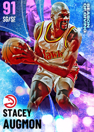 Stacey Augmon amethyst card