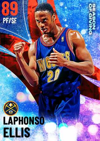 '93 Laphonso Ellis ruby card