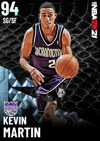 '08 Kevin Martin diamond card