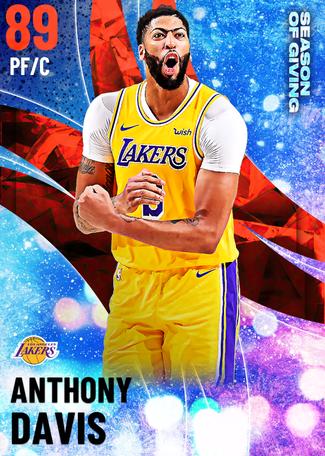 Anthony Davis ruby card