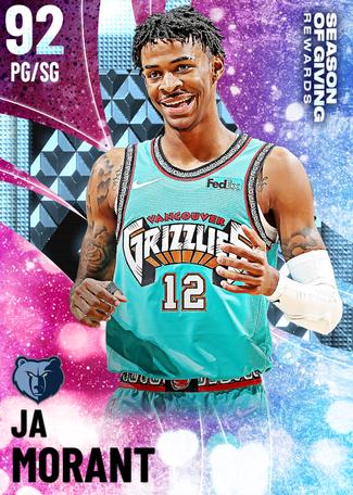 Ja Morant diamond card