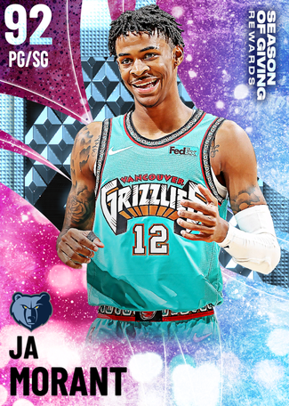 Ja Morant diamond card