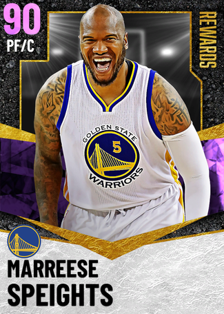 Marreese Speights amethyst card