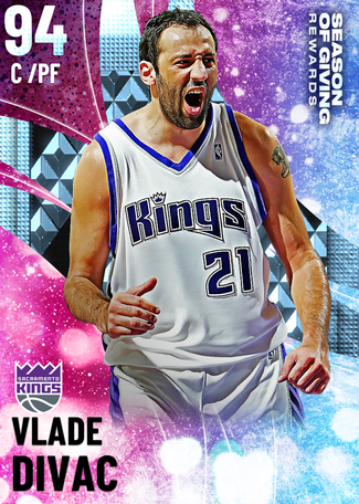 '05 Vlade Divac diamond card