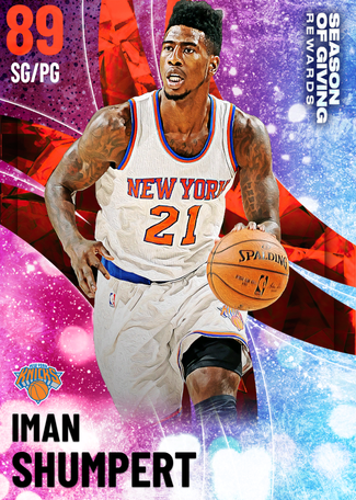 Iman Shumpert ruby card