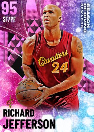 '18 Richard Jefferson pinkdiamond card