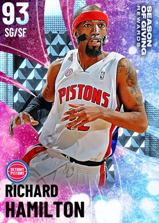 '04 Richard Hamilton diamond card
