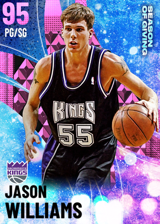 '06 Jason Williams pinkdiamond card