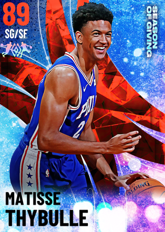 Matisse Thybulle ruby card