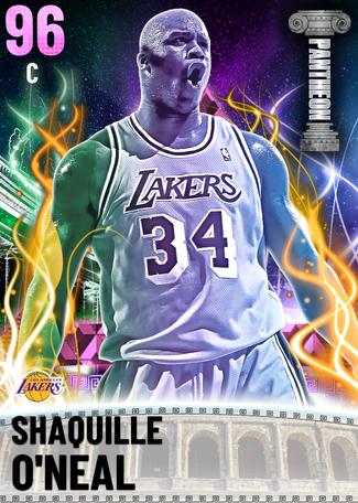'06 Shaquille O'Neal pinkdiamond card