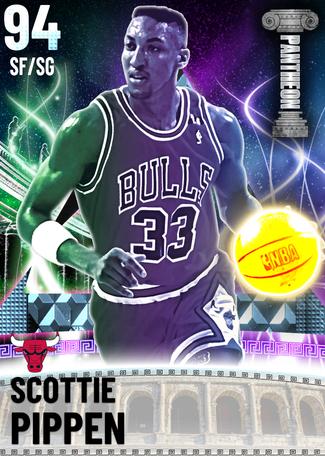 '95 Scottie Pippen diamond card