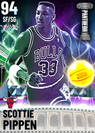 '95 Scottie Pippen diamond card