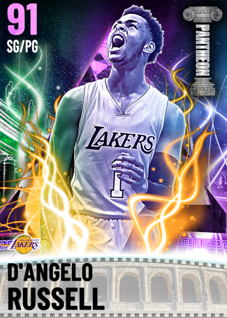 D'Angelo Russell amethyst card