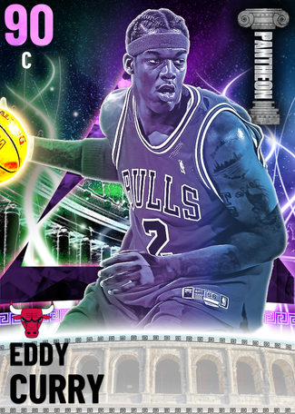 '08 Eddy Curry amethyst card