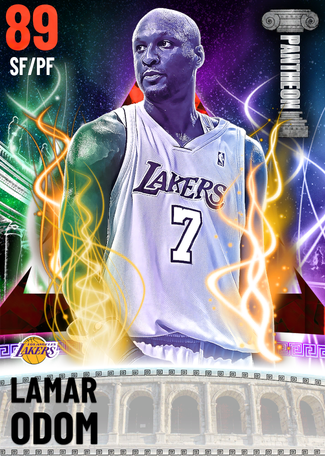 Lamar Odom ruby card