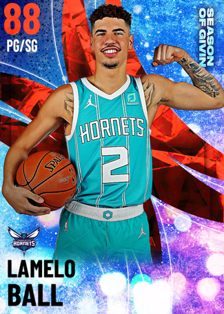 LaMelo Ball ruby card