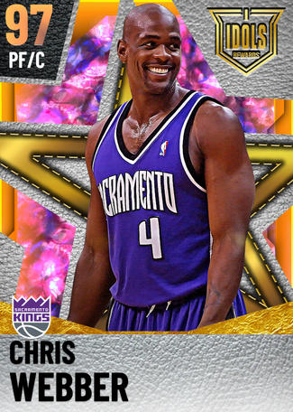 '08 Chris Webber opal card