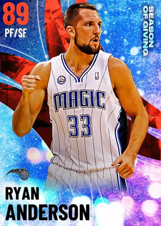 '16 Ryan Anderson ruby card