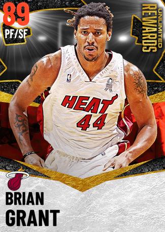 '05 Brian Grant ruby card