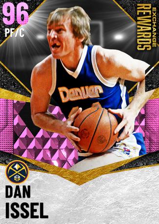 '82 Dan Issel pinkdiamond card