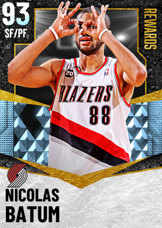 Nicolas Batum diamond card
